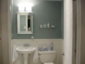 Paint Ideas For Small Bathrooms Palladian Blue Benjamin Bathroom Color To Go With The Black And White Tiles That Are
