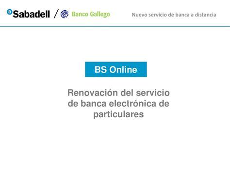banco sabadell online particulares bs online particulares banco sabadell solo otras ideas