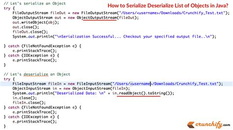 what is template in java how to serialize deserialize list of objects in java java