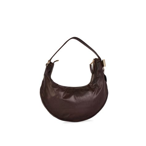 Promo Bag Gucci D3312 gucci leather shoulder bag brown luxity