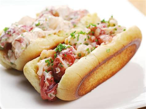 recipe lobster roll sous vide connecticut style lobster rolls with lemon and