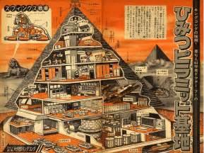 Interior Of Pyramids Of Egypt Mechani Kong And Dr Who S Secret Pyramid Base Pink Tentacle