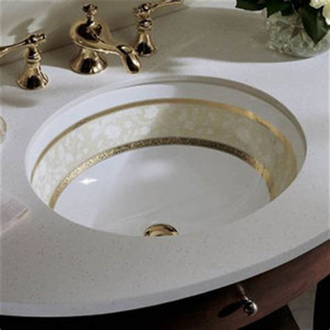 Fancy Bathroom Sink by K14218 Fg 0 Flight Of Fancy Undermount Style Bathroom Sink