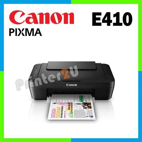 Printer Canon E410 canon pixma inkjet e410 print scan end 1 18 2018 11 49 pm