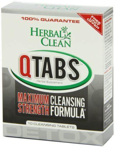 B N G Herbal Clean Qcarbo32 Detox by B N G Herbal Clean Detox Q Tabs Maximum Strength