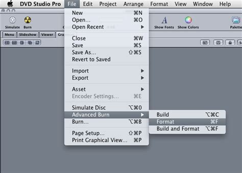 format dvd studio pro how to burn a video ts folder in dvd studio pro