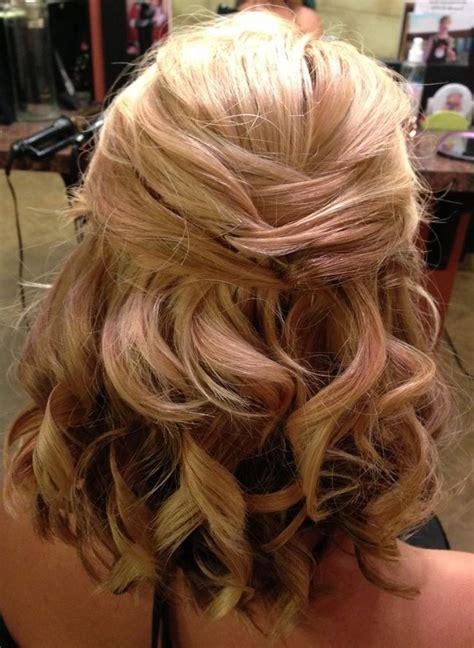 wedding hairstyles half up half shoulder length hair peinados para cabello corto 2018 tendencias e ideas