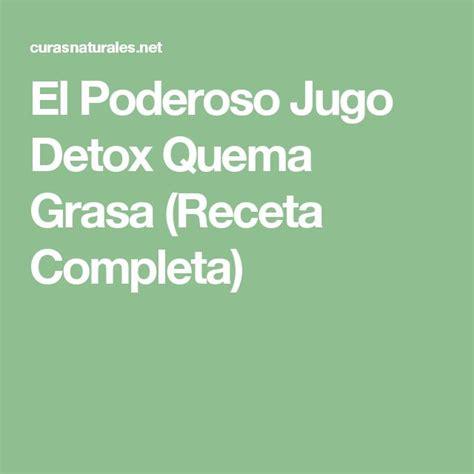 Jugo Detox Quema Grasa by Mejores 48 Im 225 Genes De Espa 241 Ol La Comida En