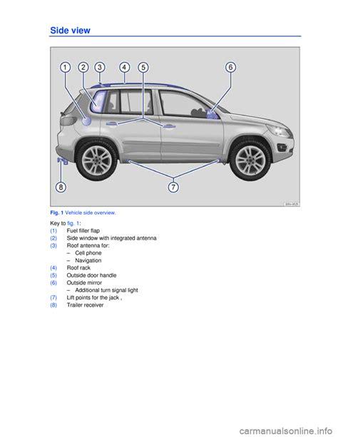 online car repair manuals free 2010 volkswagen tiguan parental controls volkswagen tiguan 2013 1 g owners manual