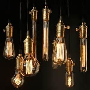 Filament Lighting Fixtures Filament Light Bulbs Vintage Retro Antique Industrial Style Lights Edison Bulbs