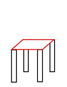 drawing a chair