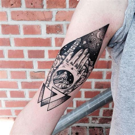 geometric animal tattoo you ll these geometric animal tattoos so bad so