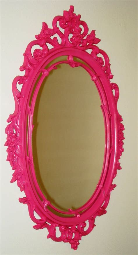 Pink Bathroom Mirror Best 25 Pink Mirror Ideas On Pinterest Pink Desk Ls Bedroom And Copper Decor