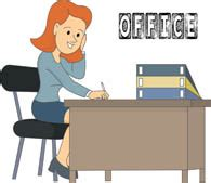 Office Desk White Free Office Clipart Clip Art Pictures Graphics