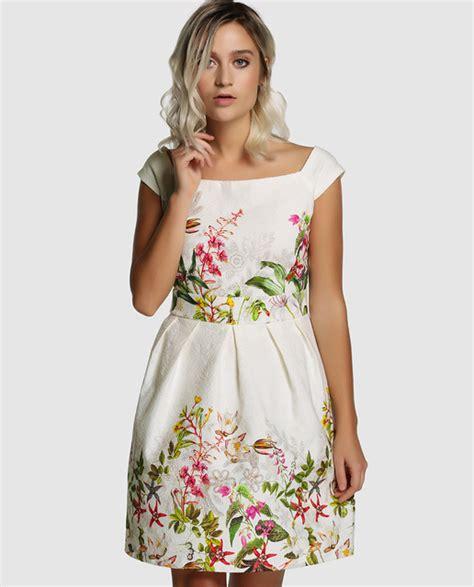ropa formula joven ropa de moda mujer vestido corto de mujer f 243 rmula joven con flores 183 f 243 rmula