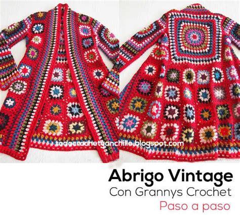 aprende a tejer blusas a crochet paso a paso learn knit easy crochet 1000 ideas sobre granny square sweater en pinterest