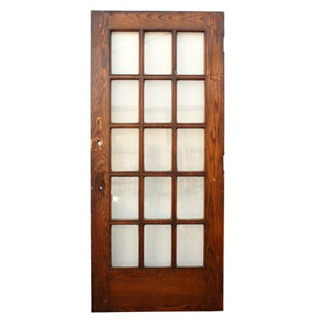 Antique Exterior Doors For Sale Antique Salvaged 36 Exterior Divided Light Door With Beveled Glass Ned84 Rw For Sale Antiques