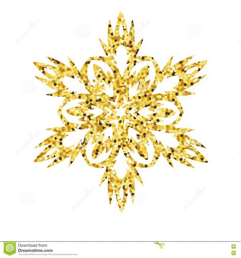 printable gold snowflakes christmas gold card with snowflake stock vector image