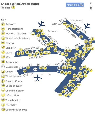 chicago ohare ord airport terminal map terminal 2 aa guide ord chicago o hare international airport mct