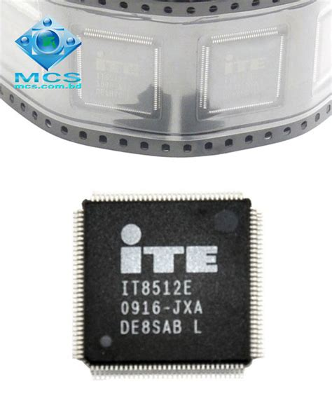 Ite 8587e By Chelin Part ite it8512e 8512e jxa cxs tqfp sio ic chipset mcs