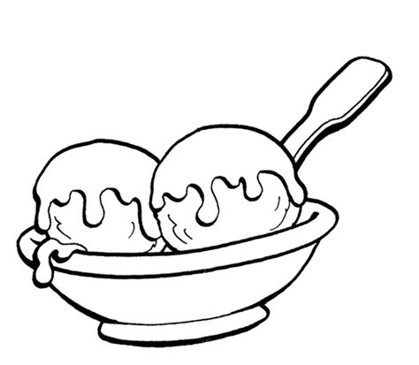 ice cream bowl coloring page ice cream bowl coloring page www imgkid com the image