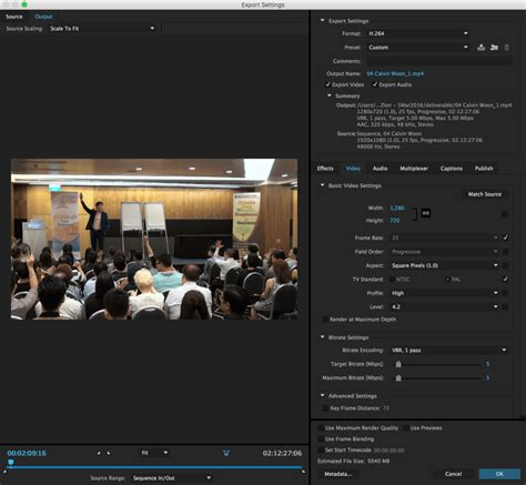 export adobe premiere best quality how to export 2 hours of video in a high quality and small