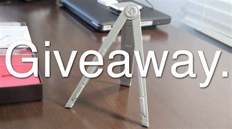 Compass Giveaway - twelve south compass for ipad giveaway