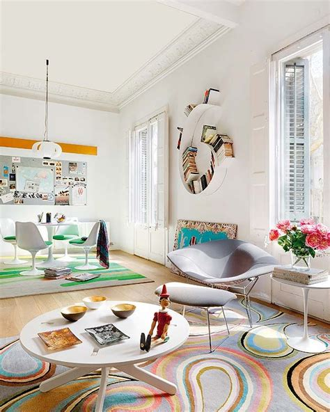 home design store barcelona barcelona house oozes color