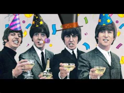 happy birthday images with the beatles the beatles happy birthday to you youtube