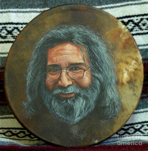 jerry painting jerry garcia drum painting by stu braks