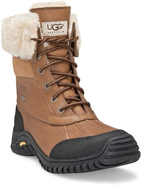 ugg winter boots ugg adirondak snow boots in white lyst