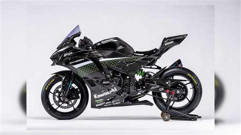 kawasaki release  race spec carbon zx  pictures