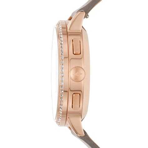 Gossil Rantai Rosegold Cover Black fossil q gazer hybrid smartwatch 41mm gold