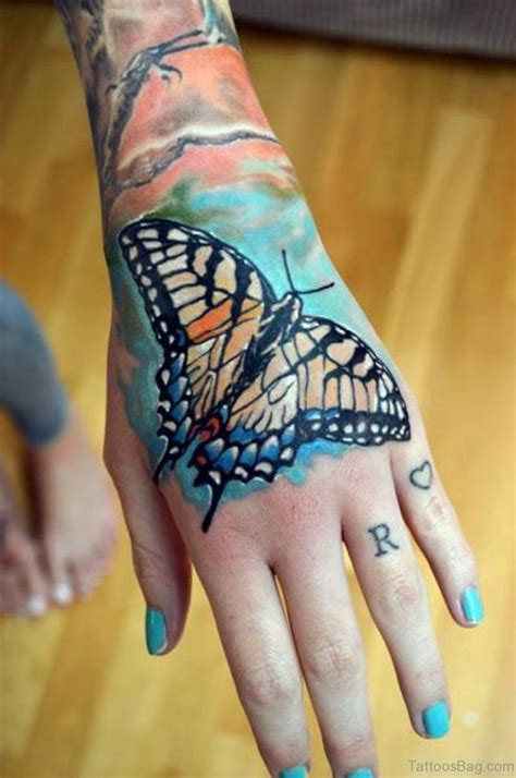 butterfly tattoo designs on hand 54 awesome butterfly tattoos on