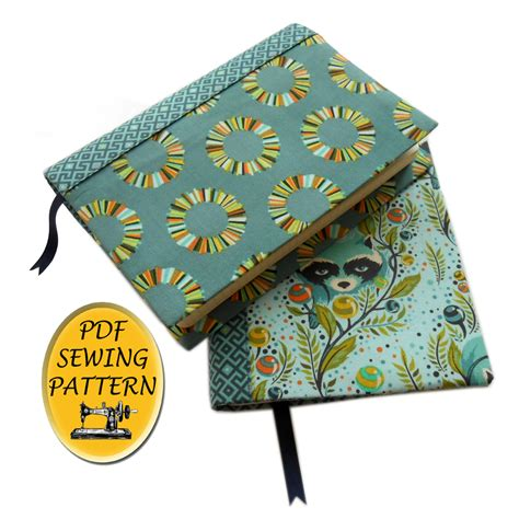 Sewing Pattern Book Holder | bible cover pattern a5 notebook holder sewing pattern
