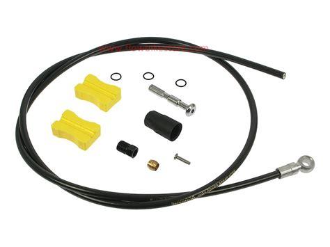 Hydraulic Hose For Brake Set Shimano Slx Xt Xtr Selang Diskon shimano xtr xt and slx brake hose