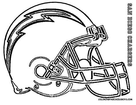 Free Coloring Pages Of San Diego Chargers Logo Nfl Coloring Pages