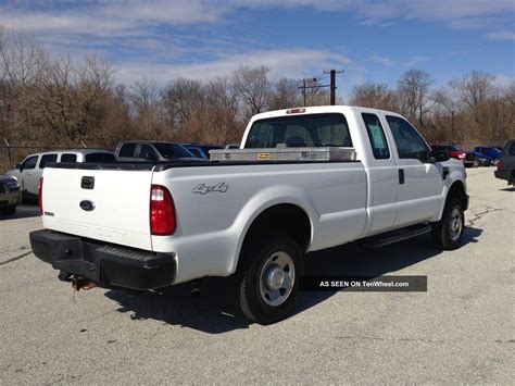 F250 Bed by 2008 Ford F250 Superduty 4x4 Xl Ext Cab Bed Pa Nspected