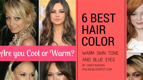 hair color for warm skin tones best hair colors for warm skin tone and blue
