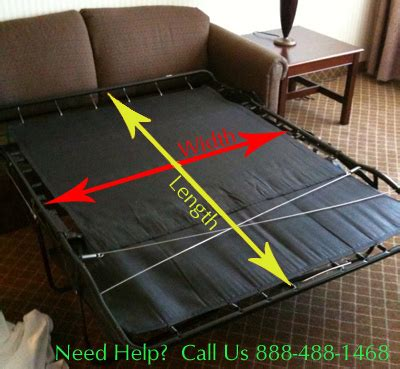 Sleeper Sofa Parts by Custom Deluxe Coolmax Sofa Bed Mattress With Memory Foam