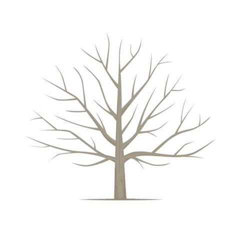 Diy Fingerprint Tree Poster Instant Download Square Tree Template Free Printable