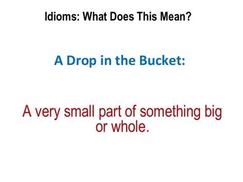 what does it mean when someone is sectioned bba ii unit ii idioms