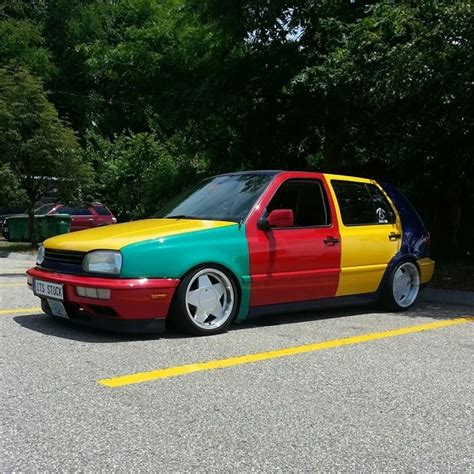 volkswagen harlequin for sale tuner tuesday 1996 volkswagen golf supercharged harlequin