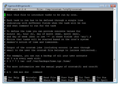 tutorial cron linux schedule programs with cron on the raspberrypi