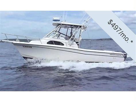 second hand grady white boats grady white 282 sailfish in florida power boats used