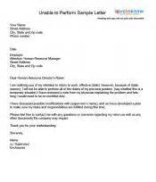 exles of a return to work letter
