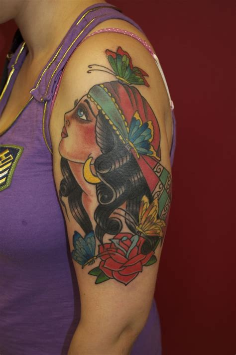 gypsy tattoo 17 best ideas about traditional tattoos on