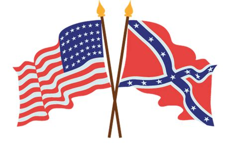 Civil War South Flag Usa american civil war flags clipart the arts image