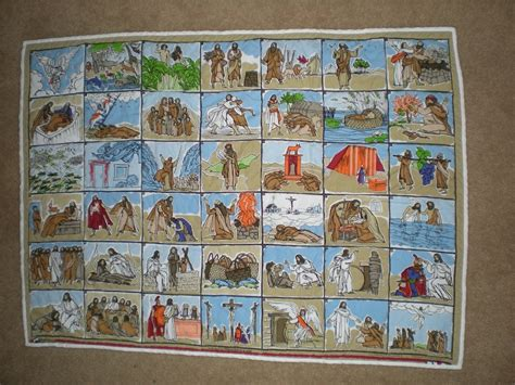 Of The Bible Quilt by Bible Story Quilt For Baby