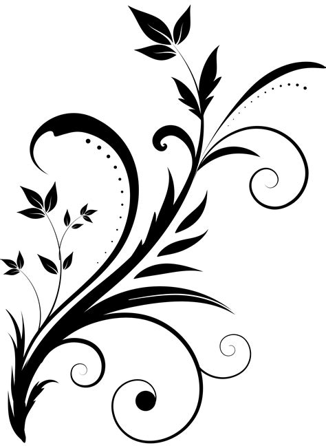 ornate swirl clipart cu   pretty
